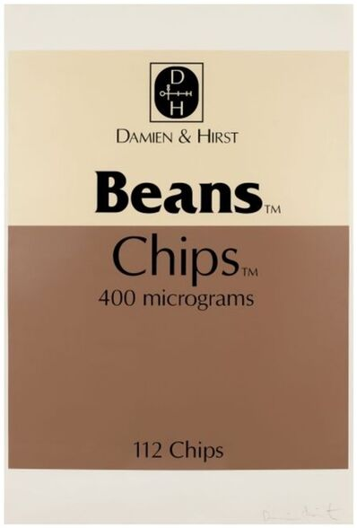 Damien Hirst, 'Beans and Chips', 1999