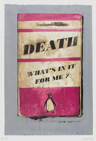 Harland Miller, 'Death What's in it For Me', 2011