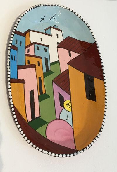 Ken Price, 'Village Plate', 1976
