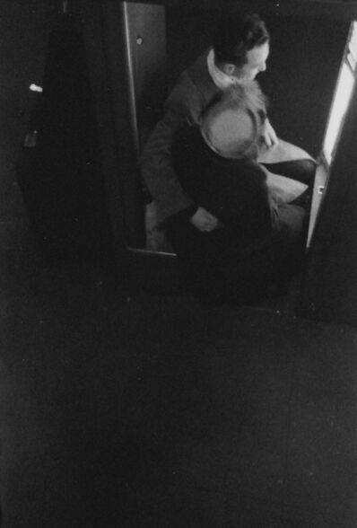 Saul Leiter, 'At the Photo Booth', ca. 1940