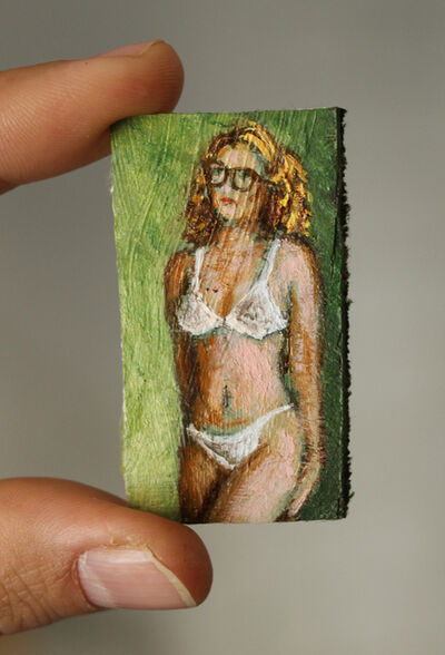Jorge Diezma, 'Girl with glasses', 2020