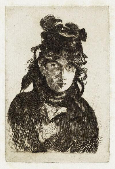 Édouard Manet, 'Berthe Morisot.', 1872
