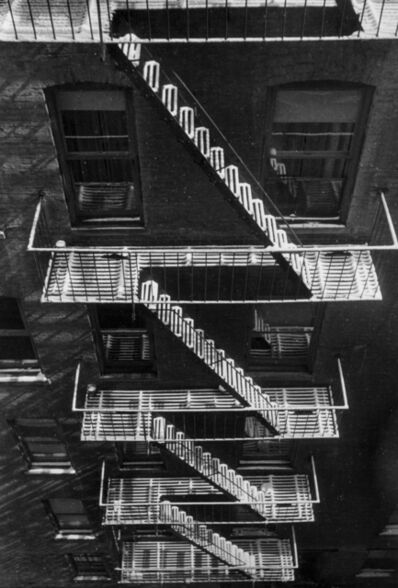Fred Stein, 'Fire Escape in Snow (New York) ', 1946
