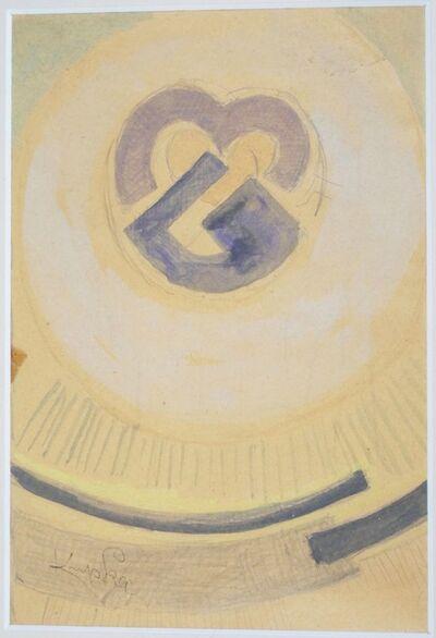 "František Kupka, 'Frantisek Kupka, ""Abstract Sketch"" Made circa 1933 ', ca. 1933"