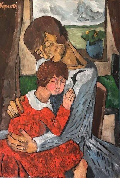 Christa Kirova, 'Mother and daughter', 2020