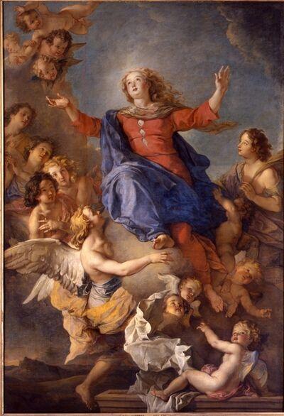 Charles de La Fosse, 'L'assomption de la Vierge (The Assumption of the Virgin)', 17th century