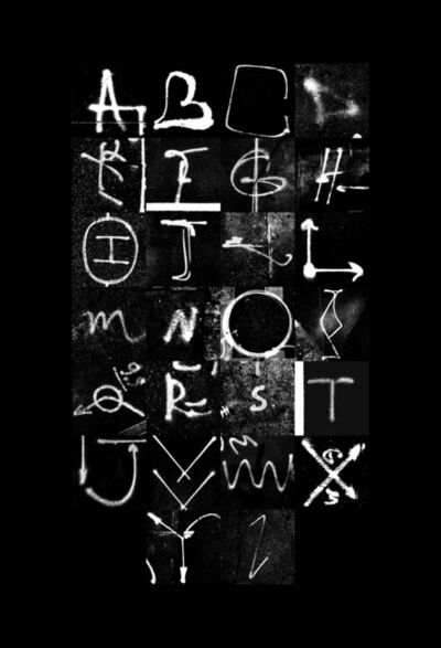 MRKA, 'Utility Alphabet 1', 2017