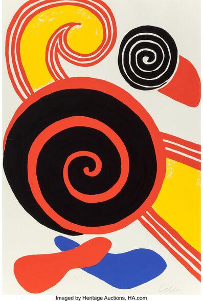 Alexander Calder, 'Untitled (Suns and Swirls)', c. 1970