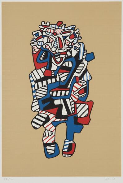 Jean Dubuffet, 'Celebrator, from Présences fugaces', 1973