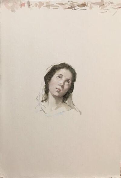 Carmen chofre García, 'Santa Rufina (after Murillo)', 2017