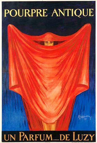 Leonetto Cappiello, 'POURPRE ANTIQUE - UN PARFUM.... DE LUZY', 1921
