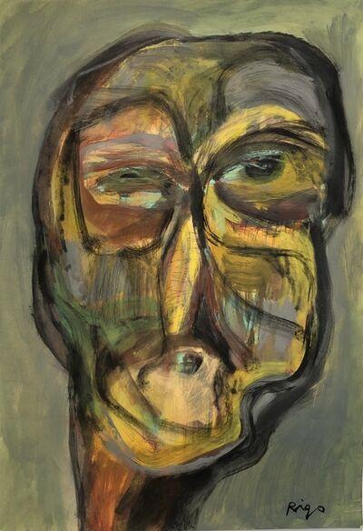 Rigo (José Rigoberto Rodriguez Camacho), 'Head No. 10', ca. 2019