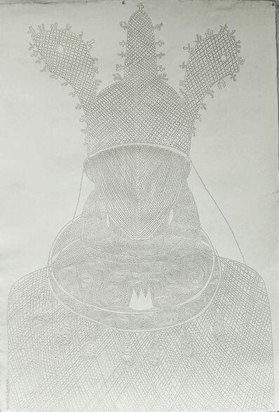 Victor Ehikhamenor, 'Born to Reign', 2018