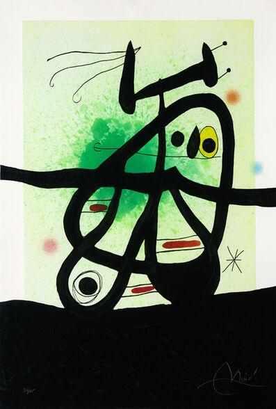 Joan Miró, 'Oiseau mongol', 1969