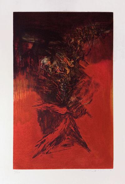 Zao Wou-Ki 趙無極, 'Ohne Titel', 1972