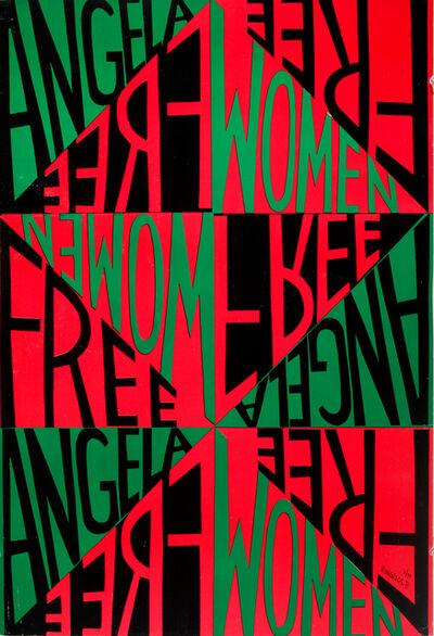 Faith Ringgold, 'Woman Free Angela', 1971