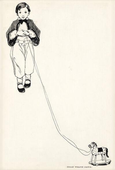 JESSIE WILLCOX SMITH, 'Boy with Pull Toy', 20th Century