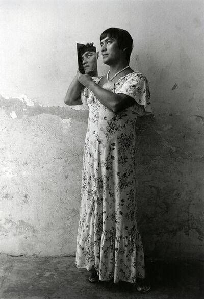 Graciela Iturbide, 'Magnolia con Espejo, Juchitán'
