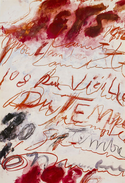 Cy Twombly, 'Untitled', 1986