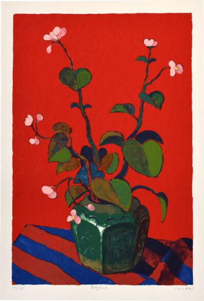 Kiyohei Inukai, 'Begonia', ca. 1970