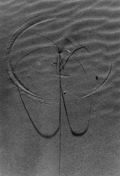 Lucien Clergue, 'Langage des sables Camargue ', 1974