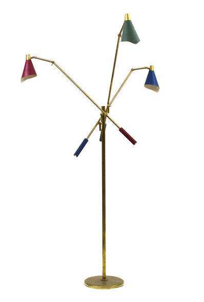 Arredoluce, 'Three-lighted floor lamp'
