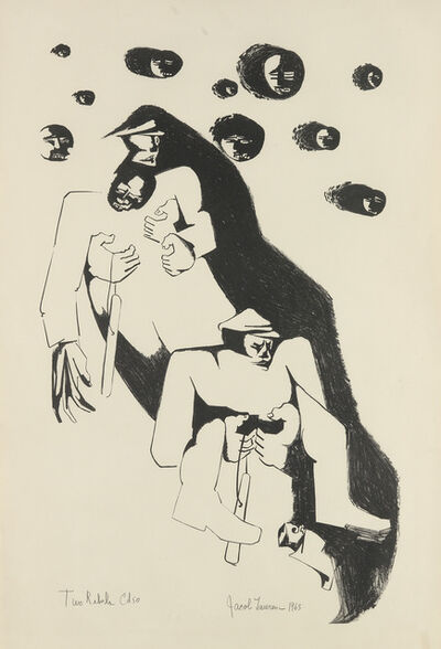 Jacob Lawrence, 'Two Rebels.', 1963