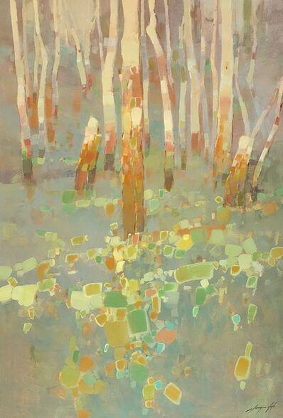 Vahe Yeremyan, 'Birches Trees', 2018