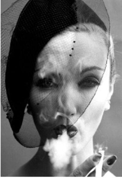 William Klein, 'Smoke + Veil 4, Paris (Vogue), 1958', 2019