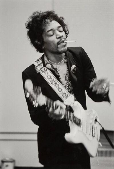 Linda McCartney, 'Jimi Hendrix Playing Guitar', 1968