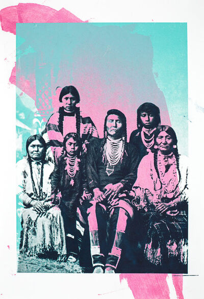 Zefrey Throwell, 'Chief Joseph and Family', 2015