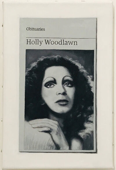 Hugh Mendes, 'Obituary: Holly Woodlawn', 2018
