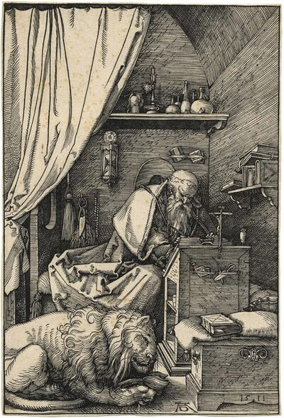 Albrecht Dürer, 'Der heilige Hieronymus in der Zelle – Saint Jerome in his Cell', 1511