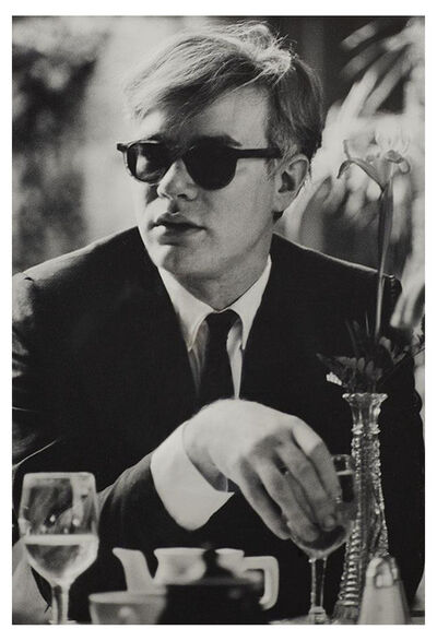 Dennis Hopper, 'Andy Warhol (at table) ', 1963