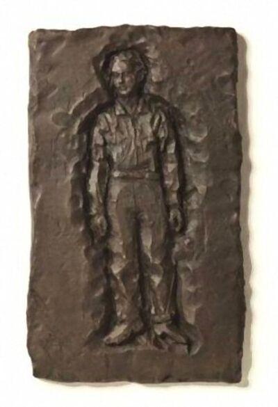 Stephan Balkenhol, 'Relief Mann', 2000-2010