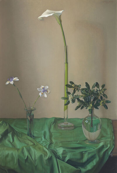 Claudio Bravo, 'Flowers', 2001