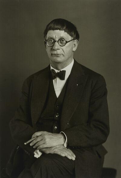 August Sander, 'DerArchitekt(HansPoelzig)', 1929