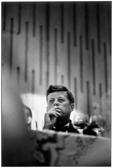 Elliott Erwitt, 'John F. Kennedy, Los Angeles, California', 1960