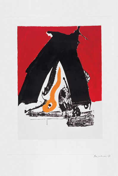 Robert Motherwell, 'The Basque Suite: Untitled (ref. 82)', 1971