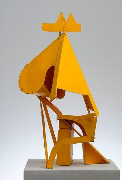 Thomas Kiesewetter, 'Knight (yellow)', 2015