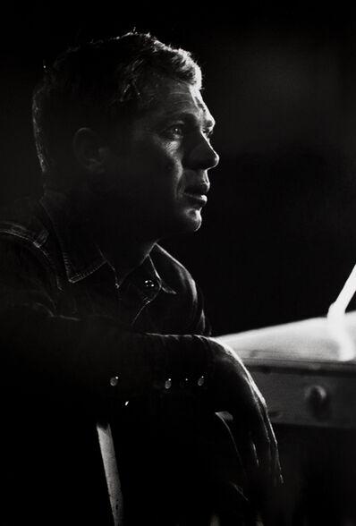 William Claxton, 'Steve McQueen listens to the director, Wharton, Texas', 1963