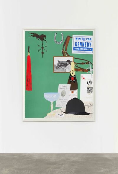 Matthew Brannon, 'Jacqueline Kennedy, Equestrian', 2020