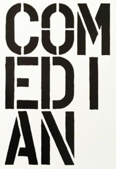 Christopher Wool, 'Comedian', 1989