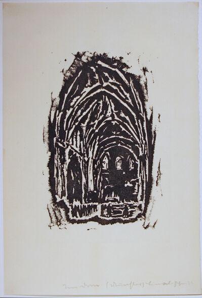 Josef Albers, 'Im Dom zu Münster', 1916
