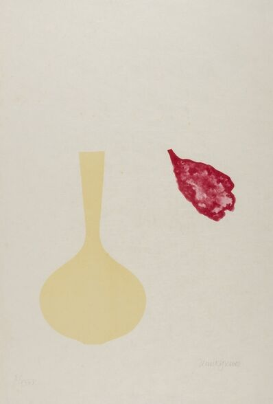 Derrick Greaves, 'Vase and Falling Petal (from Europaeische Graphik VII)', 1971