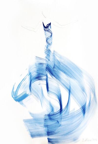 Bettina Mauel, 'The Blue Cloth 4', 2017