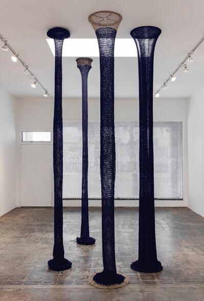 Claudia Parducci, 'Skinny Blue Column', 2016