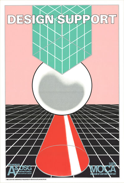 John Van Hamersveld, 'Design Support', 1980