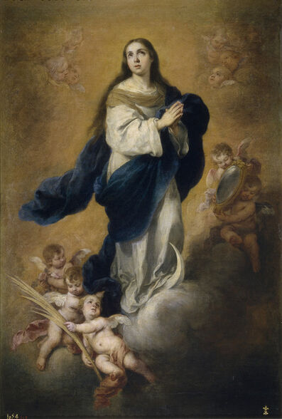 Bartolomé Esteban Murillo, 'The Immaculate Conception', ca. 1665-1675