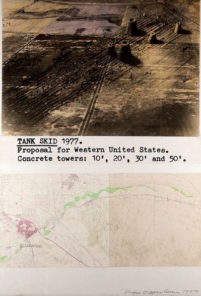 Dennis Oppenheim, 'Tank skid', 1977